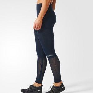 Adidas x Stella McCartney black mesh leggings